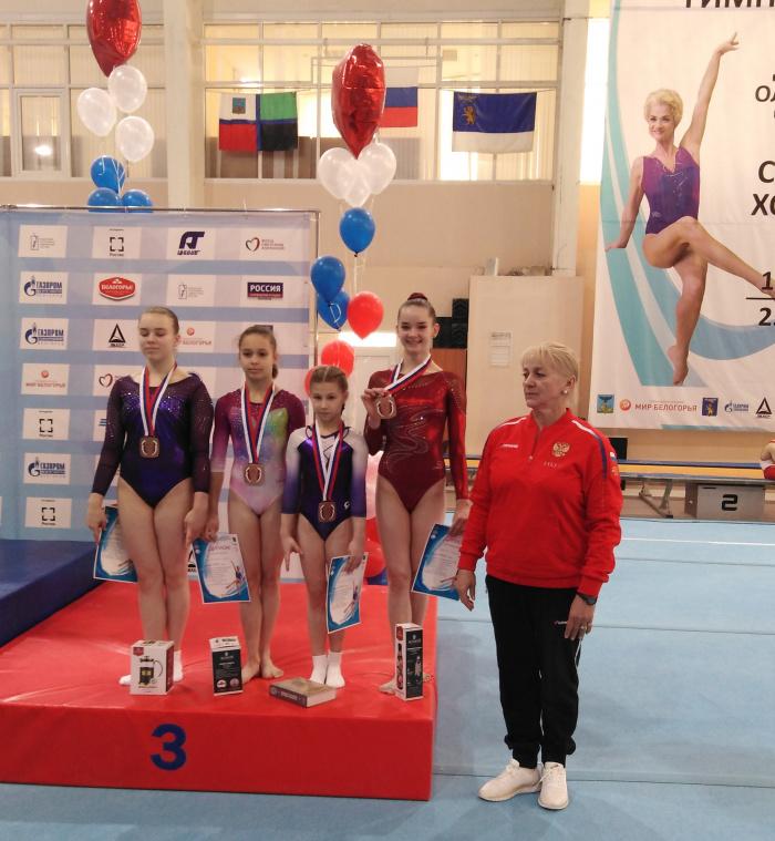 Новгородская гимнастка завоевала 2 награды всероссийских соревнований