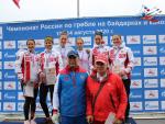 Новгородская байдарочница завоевала бронзу чемпионата России