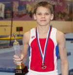 Новгородский гимнаст выиграл первенство России