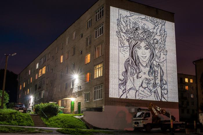 В Валдае стартовал финал Всероссийского фестиваля уличного искусства «Страницы истории»