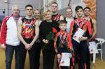 Новгородские акробаты успешно выступили на домашнем первенстве округа