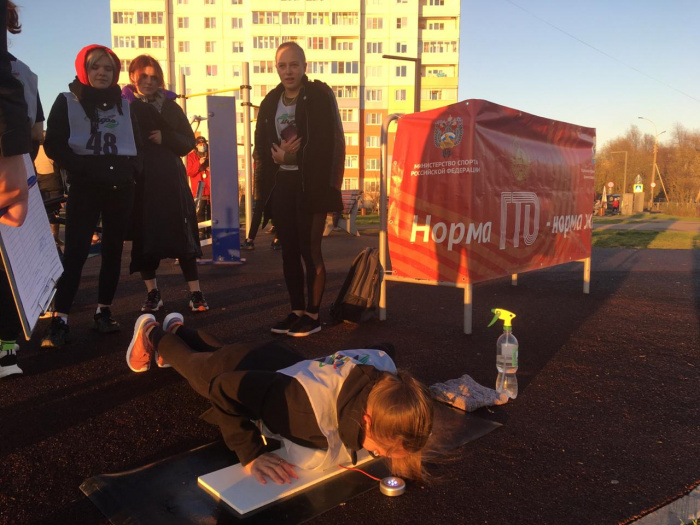 Более 50 новгородцев присоединились к движению ГТО