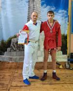 Новгородский самбист занял второе место на Всероссийских соревнованиях