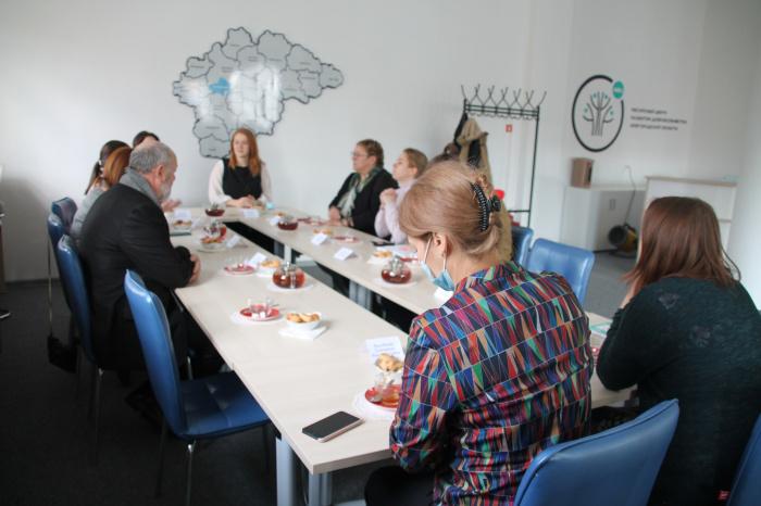 Прошла встреча представителей добровольчества с руководством Новгородского музея-заповедника.