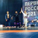 Новгородцы впервые завоевали награды первенства России по грэпплингу