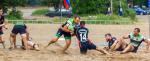 Новгородский «Варяг» выиграл зональный этап чемпионата России по пляжному регби