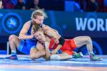 Новгородка Надежда Соколова - бронзовый призер чемпионата мира по спортивной борьбе