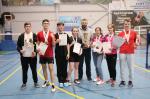 Бадминтонисты «Спарты» – вторые в зональном этапе Спартакиады молодежи России