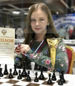 Шахматистка  из Великого Новгорода завоевала бронзовую медаль первенства России