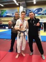 Новгородский борец джиу-джитсу стал вице-чемпионом России
