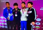 Уроженец Великого Новгорода стал бронзовым призером чемпионата Европы по спортивной борьбе
