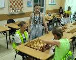 Для новгородских школьников прошел мастер-класс по шахматам