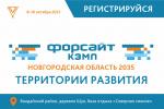 Стартовала регистрация форсайт-кэмп «Новгородская область 20.35»