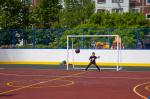 В Великом Новгороде открыли спортивную площадку по проекту «Газпром – детям»