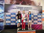 Новгородские пловцы завоевали награды окружных соревнований