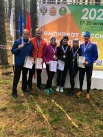 Новгородцы успешно выступают на чемпионате России по спортивному ориентированию