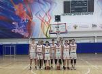Команда «Ильмер-Спарта» победила во II туре первенства России среди команд детско-юношеской баскетбольной лиги