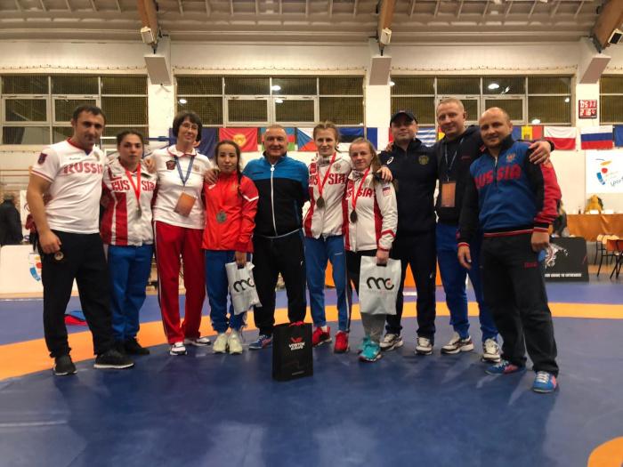 Новгородка завоевала бронзу международных соревнований по вольной борьбе