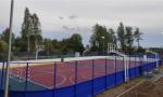 В регионе продолжается строительство спортивных объектов