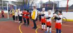 Новая спортивная площадка открылась в Боровичах