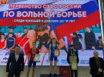 Новгородские борцы успешно выступили на юношеском первенстве округа