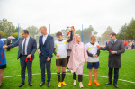 В деревне Савино Новгородского района открыли пришкольный стадион
